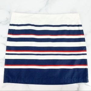 TOMMY HILFIGER Blue, Red, White Stripped Skirt 16